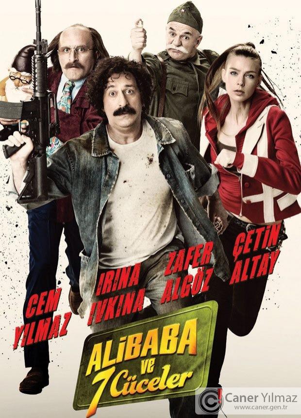 Cem Yılmaz'ın Yeni Filmi Ali Baba ve Yedi Cüceler