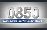 0850'li Telefon Numaraları Nedir? Nasıl Kullanılır?