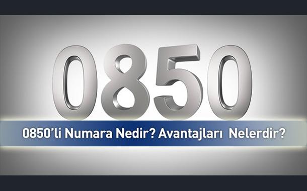 0850'li Numara Nedir? Nereden Alınır?