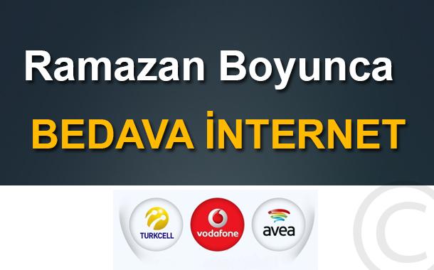 Ramazan Boyunca Bedava İnternet
