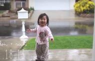 Bir Çocuğun Yağmurla Tanışma Heyacanı